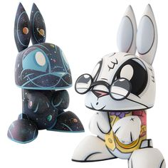 Galaxy and White Rabbit Bunny / Joe Ledbetter