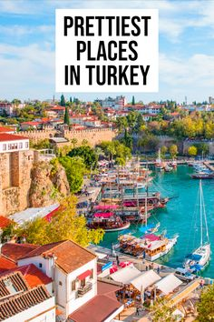 Turkey is full of beautiful cities to explore. This comprehensive list will get you to all of them! babies flight hotel restaurant destinations ideas tips Turkey Destinations, Travel Destinations, Best Places To Travel, Cool Places To Visit, Naher Osten, Visit Turkey, Turkey Travel, Turkey Vacation, Europe