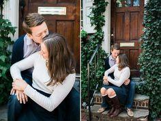 Olde City Philadelphia Engagement, Emily Kirke Photography