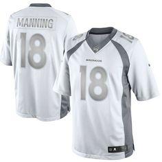 Redskins Josh Norman jersey Peyton Manning Denver Broncos Nike Platinum Limited Jersey - White Giants Landon Collins jersey Ravens Eric Weddle jersey