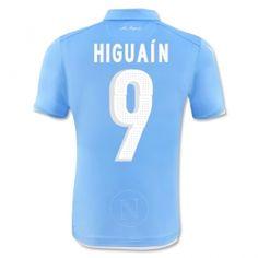 Napoli 2014-15 season Higuain #9 Home Jersey [A258]