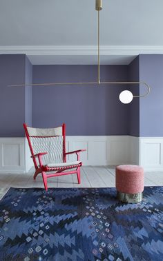 Michael Anastassiades, Mobile Chandelier 8, in The Apartment, Copenhagen