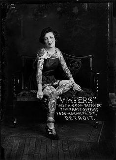 Pearl Hamilton, Percy Waters Studio, Detroit, MI ca.1923
