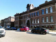 #ThursdayDoors 3-8-15  Nelsonville School Commons