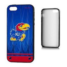 Kansas Jayhawks Apple iPhone 5SE/5s/5 Bumper Case