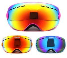 ab6e67d5c26e SOARED Winter Outdoor Sport Snowboard Protective Glasses Children Kids Snow  Ski Goggles Polarized Anti-Fog. Cheap ...