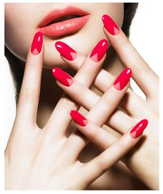 The best new nail polish colors and trends plus gel manicures, ombre nails, and nail art ideas to try. Get tips on how to give yourself a manicure and. Coral Nail Polish, Coral Nails, Nails Polish, Love Nails, Pink Nails, Pastel Nails, Acrylic Nails, Fabulous Nails, Gorgeous Nails