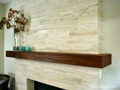 Materials Marketing in Texas called vintage vein cut travertine (that's the style and color name) pre-cut in 3 different sizes (2x8, 3x16, and 4x24 -