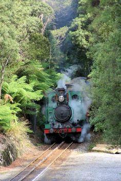 West Coast Wilderness Railway, Queenstown, Tasmania, Australia