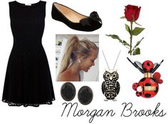 Morgan's Funeral Outfit & Hairstyle.