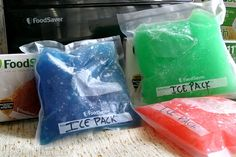 How to make Gel Ice Packs