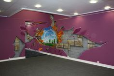 3D Wall Paintings Just For Fun