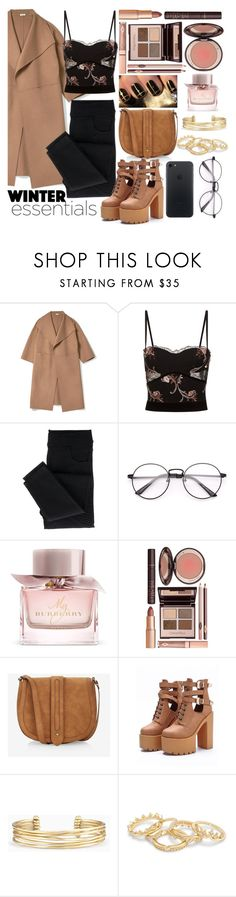 """""""Love The Look #11"""" by sallyqueen ❤ liked on Polyvore featuring La Perla, Burberry, Charlotte Tilbury, Express, WithChic, Stella & Dot and Monday"""