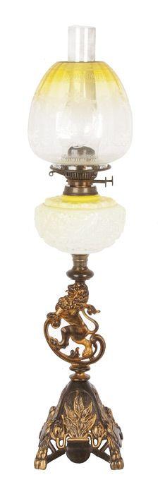 A 19th century citrene glass… - Australiana - Charles Leski Auctions Pty. Ltd. - Antiques Reporter