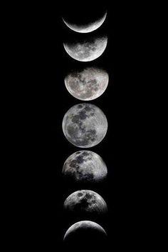 Artwork Online, Moon Art, Moon Phases Art, Moon Moon, Moon Phases Drawing, Full Moon, In The Moon, Cycles Of The Moon, Happy Art