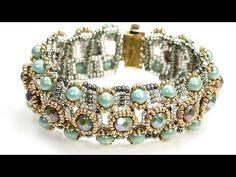 Dainty Beaded Bracelet. DIY Bracelet.How to make beaded Bracelet - YouTube