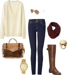 """""""classic fall"""" by paigeypassmore on Polyvore"""