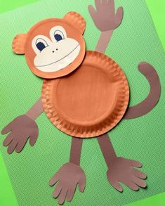 Paper Plate Monkey Crafts for Preschool . 26 Beautiful Paper Plate Monkey Crafts for Preschool Concept . Paper Plate Monkey Fun Paper Plate Crafts for Kids Kids Crafts, Zoo Crafts, Monkey Crafts, Paper Plate Crafts For Kids, Daycare Crafts, Craft Activities For Kids, Toddler Crafts, Preschool Crafts, Paper Crafts