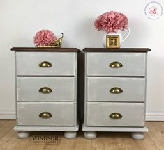 Bedside Tables, Painted Side Tables, Painted Bedside Tables, Small Chest of Drawers, Painted Drawers, Painted Chest of Drawers