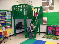 Classroom reading loft
