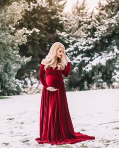 Maternity Photography - Red Maternity Gown - Maternity Photographer - Maternity Portraits - Maternity Photo Session - Beka Price Photography - Utah Maternity and Baby Portraiture. Red Maternity Dress, Maternity Photo Outfits, Maternity Fashion, Maternity Pics, Maternity Portraits, Winter Maternity Pictures, Maternity Christmas Pictures, Maternity Gown Photography, Maternity Photographer