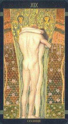 Golden Tarot de Klimt, Le Soleil