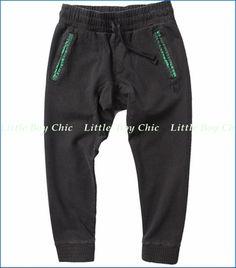 Munster, Oasis Pigment Pants in Vintage Black