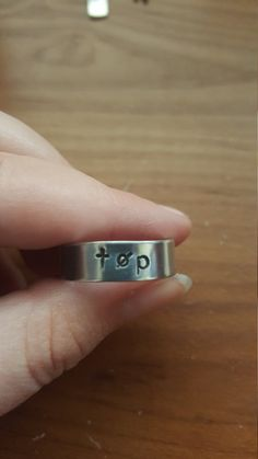 TØP Twenty One Pilots Fan Ring by prettylittlethingsg on Etsy