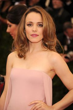 Killed it with the entire look Rachel McAdams Turns Heads at Her First Met Gala