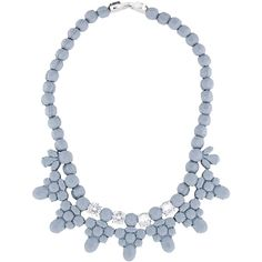 Pre-owned EK Thongprasert Innocent Sky Necklace ($175) ❤ liked on Polyvore featuring jewelry, necklaces, ek thongprasert jewelry, bead necklace, white bead necklace, white jewelry and white necklace