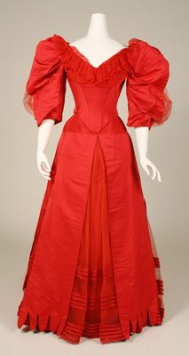 Circa 1896 Ball Gown by House of Worth