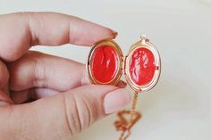 Lip Balm Lockets | 31 Cheap And Easy Last-Minute DIY Gifts They'll Actually Want