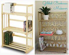 DIY Bookcase Makeover