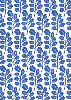 Cotton, Lino print on fabric, Kiran Ravilious 2013 ©