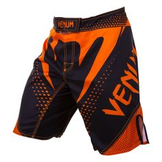 1da6905c27 Venum Hurricane Fight Shorts (Black Neo Orange)