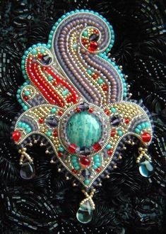 Bead embroidery by Olga Orlova
