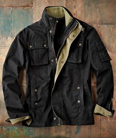 A men's jacket built ready for the open road and perfect for Holiday travels:: All Cylinders Coat from Carbon2Cobalt