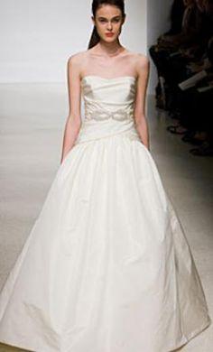 Amsale Wedding Dress A603 Gwen, PreOwnedWeddingDresses.com Listing 67225