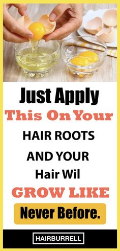 Using Eggs, Olive Oil, Castor Oil & Coconut Oil For Hair Growth