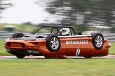 Lol the upside down race car from LeMons.