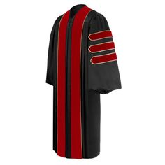 Doctoral of Theology Academic Gown AKA Griffindor Professor Robes