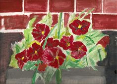 "Prints of ""Pot of Petunias"" are available via moosecracker@hotmail.com or as a DM on Twitter @ moosecracker (no space between @ and moosecracker)."