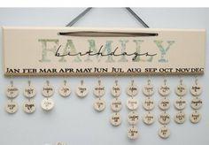 Keep track of birthdays -- I need this!