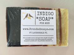 MENS SOAP INDIGO by BrendaDsoap on Etsy