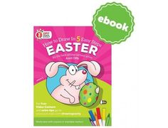 ZIPIT Drawing Easily Booklet - Easter (ebook)