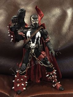 Mezco One-12 Spawn (Marvel Legends) Custom Action Figure