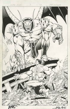Thanos vs Hulk #3, page 20 by Jim Starlin & Andy Smith