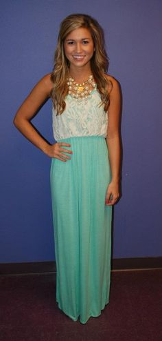 turquoise lace maxi dress....soo beautiful rm