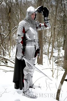 Armor knight paladin medieval SCA armour kit for sale. Available in: stainless :: by medieval store ArmStreet Halloween Costumes For Girls, Costumes For Women, Women Halloween, Diy Halloween, Pirate Costumes, Cosplay Costumes, Fantasy Armor, Medieval Fantasy, Medieval Life