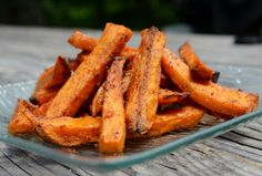 Maple- Chili Sweet Potato Fries